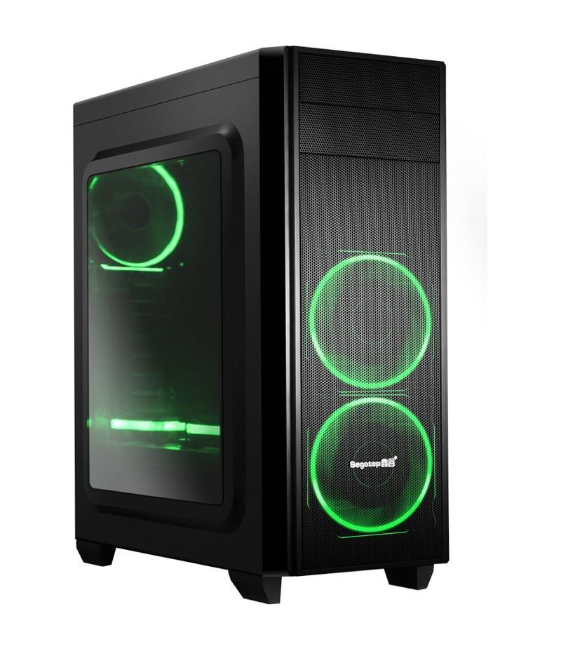 Кутия за настолен компютър Segotep Halo 5 SG-H5B