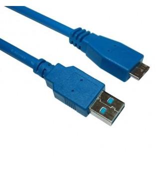 VCom Кабел USB 3.0 AM към Micro USB BM 1.5 метра CU311