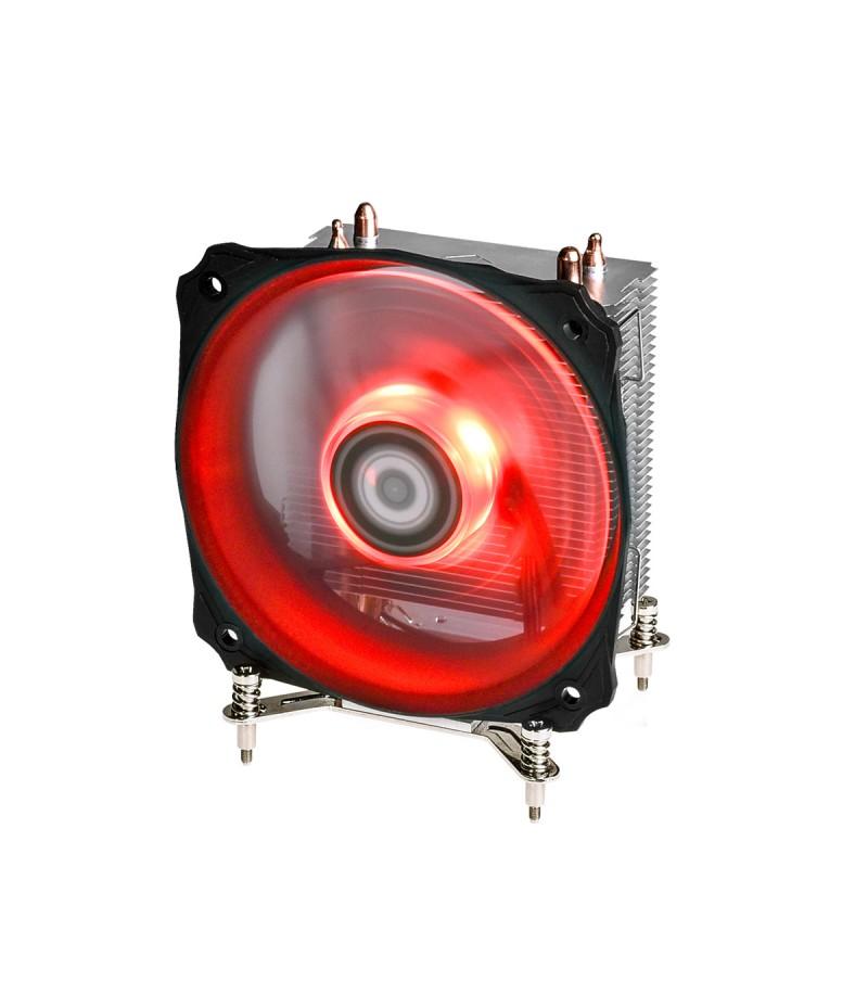 Охладител за Intel процесор ID-Cooling SE-912I с червена LED подсветка