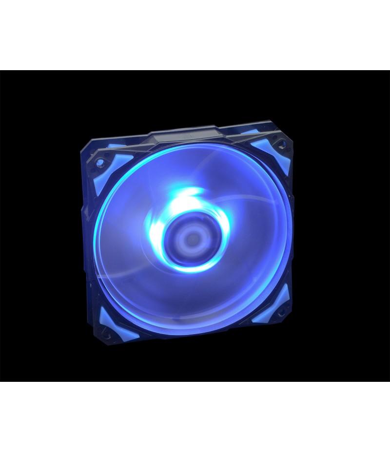 Oхладител за кутия ID Cooling PL-12025-B 120mm синя LED подсветка