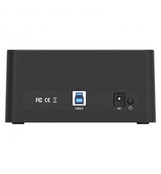 """Докинг станция за 3,5"""" и 2,5"""" HDD и SSD устройства Orico 6619US3-BK"""