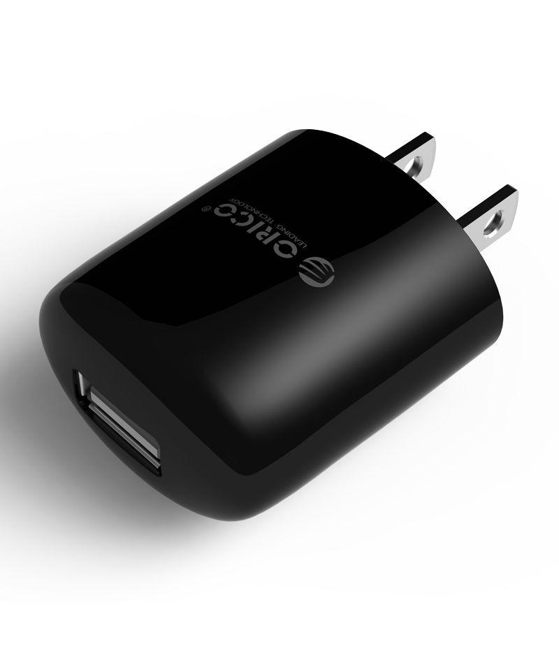 Зарядно Orico DCX-1U Black USB Charger 1A
