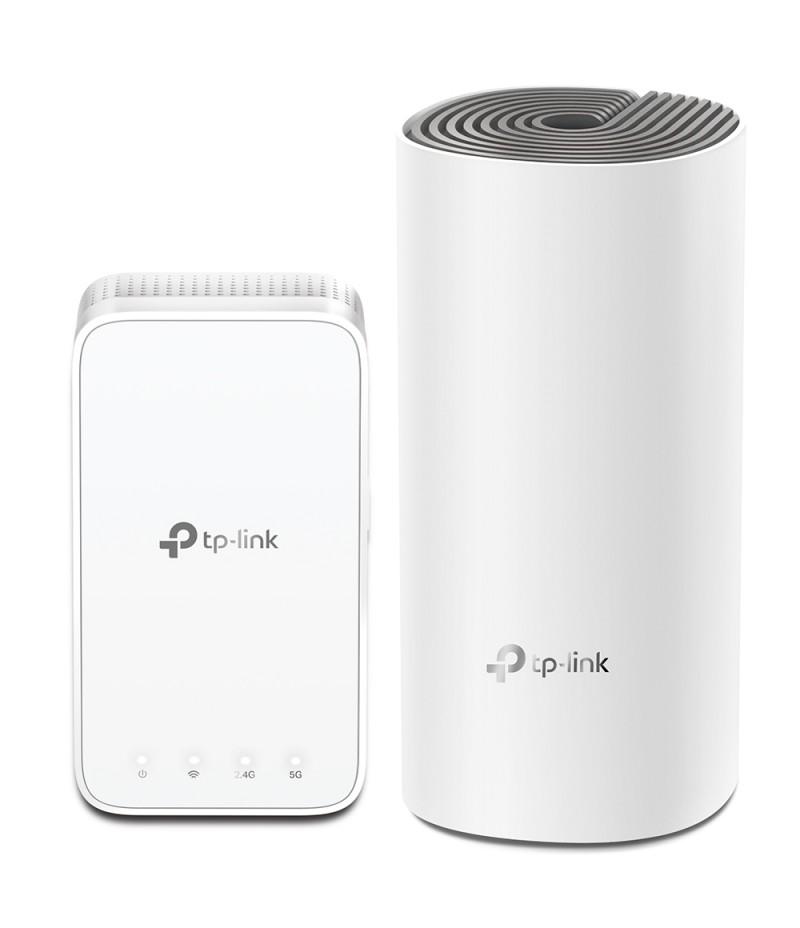 Безжична Wi-fi система TP-Link Deco E3(2-pack) AC1200