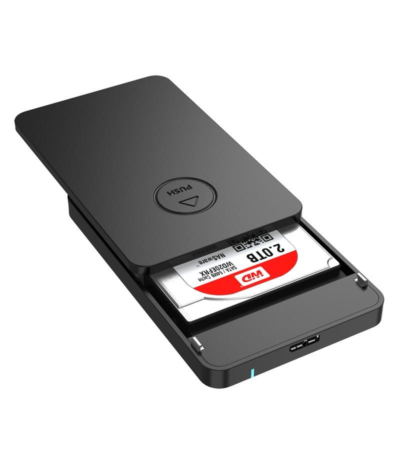 """Кутия за диск Orico 2569S3 Black 2.5""""HDD Enclosure USB3.0"""