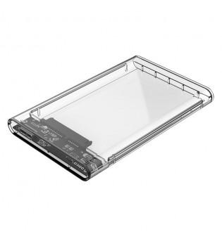 """Прозрачна кутия за HDD/SSD дискове Orico 2139U3 2.5"""" USB 3.0"""