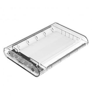 Прозрачна кутия за 3.5-инчови HDD дискове Orico 3139U3