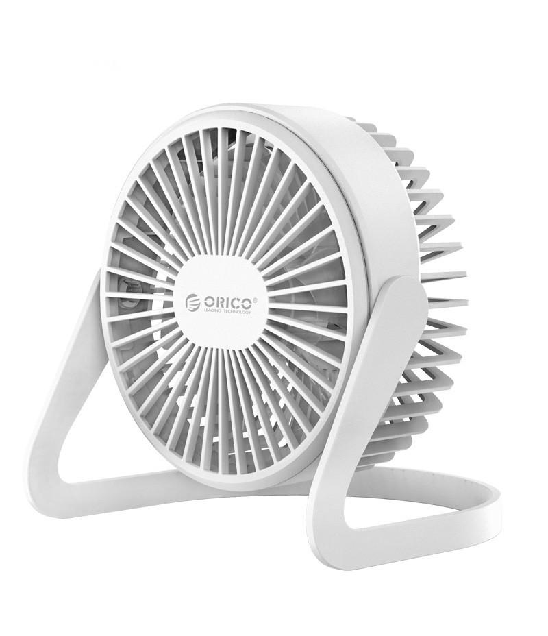 USB вентилатор Orico FT1-2 бял