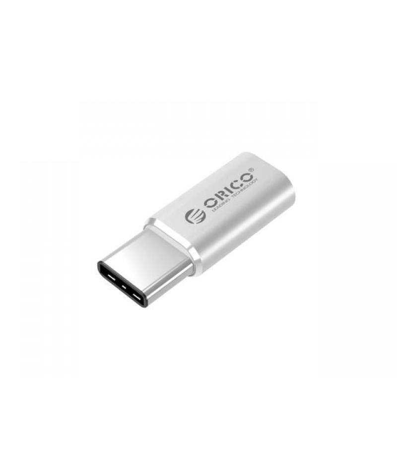 Адаптер Orico CTM1 Aluminum Type-C/M към MicroUSB/F