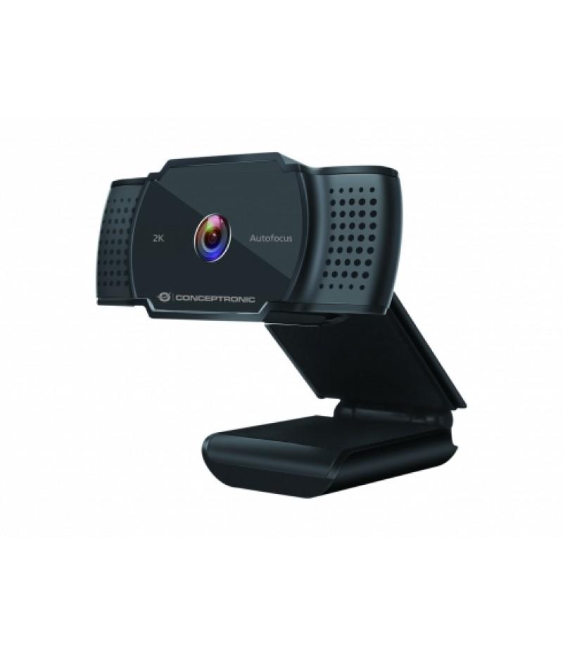 2k SuperHD уеб камера с микрофон Conceptronic AMDIS02B