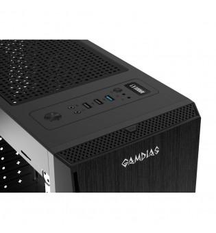 Кутия за настолен компютър Gamdias Argus E1 с RGB панелна лента