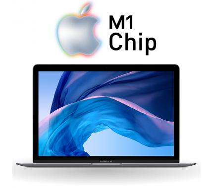 "Преносим компютър Apple MacBook Air M1 Chip 13.3"" Retina Display Space Gray MGN63LL/A"