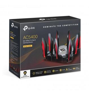 3-лентов геймърски рутер TP-Link Archer C5400X AC5400 MU-MIMO