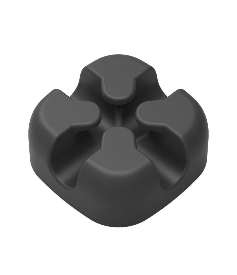 Кръстосан силиконов държач на кабели Orico CBSX-BK
