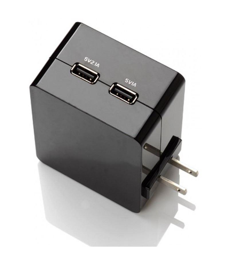 Зарядно устройство Orico DCA-2U-BK с 2 USB входа
