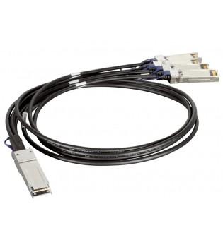 Пасивен 40G QSFP кабел D-Link DEM-CB100QXS-4XS
