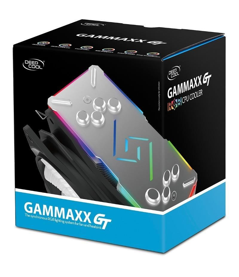 Охладител за Intel и AMD процесори DeepCool Gammaxx GT RGB