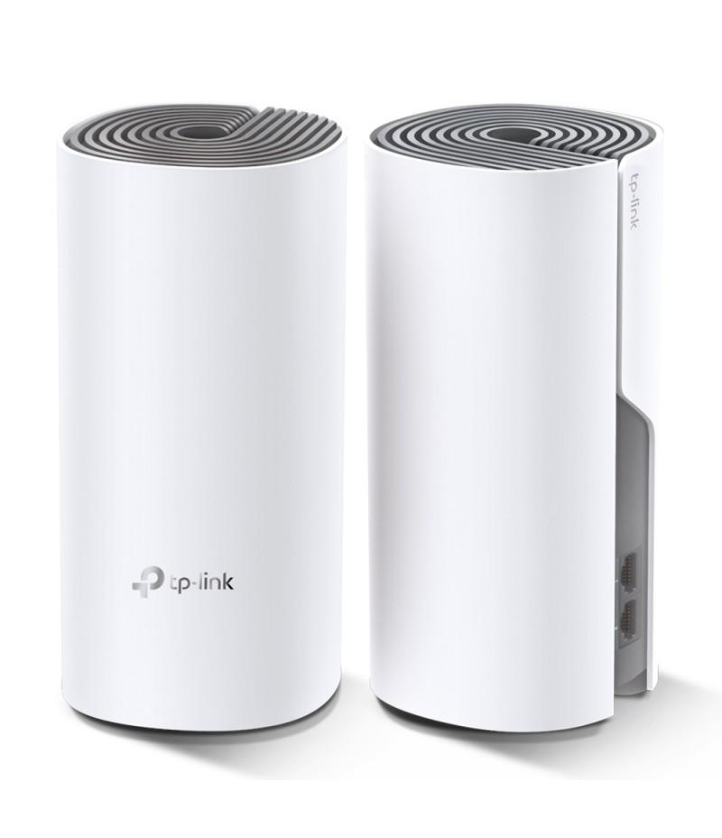 Безжична Mesh Wi-fi система TP-Link Deco E4 AC1200 (2-pack)