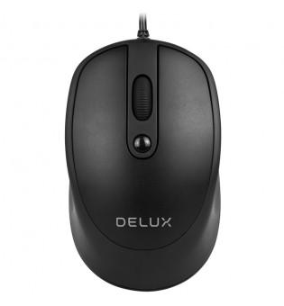 Оптична кабелна мишка Delux M366