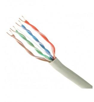 FTP кабел CAT5e 24AWG меден сив 4AWG CU