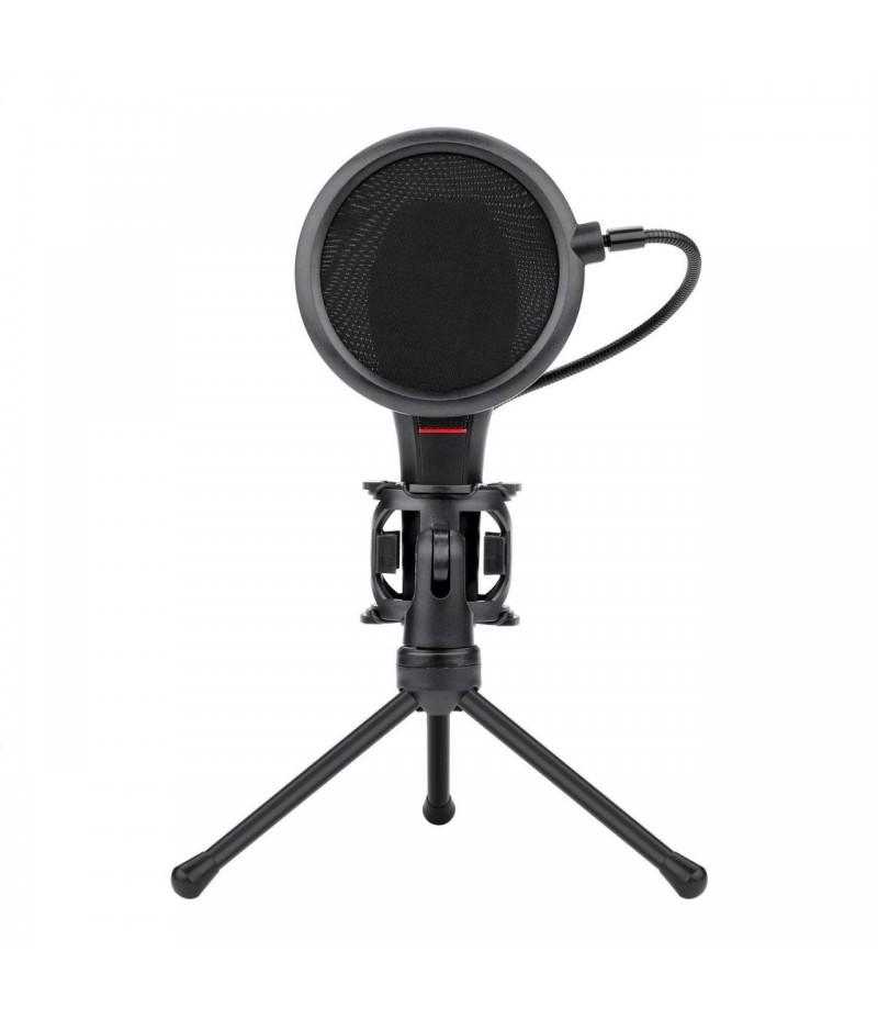 Микрофон със стойка Redragon Quasar 2 GM200-1-BK