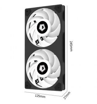 aRGB радиатор ID-Cooling Icefan 240 мм ICEFAN-240-ARGB