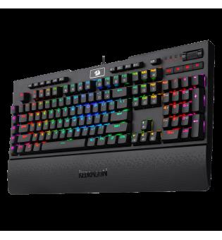 Механична RGB геймърска клавиатура Redragon Brahma PRO K586PRO-BK