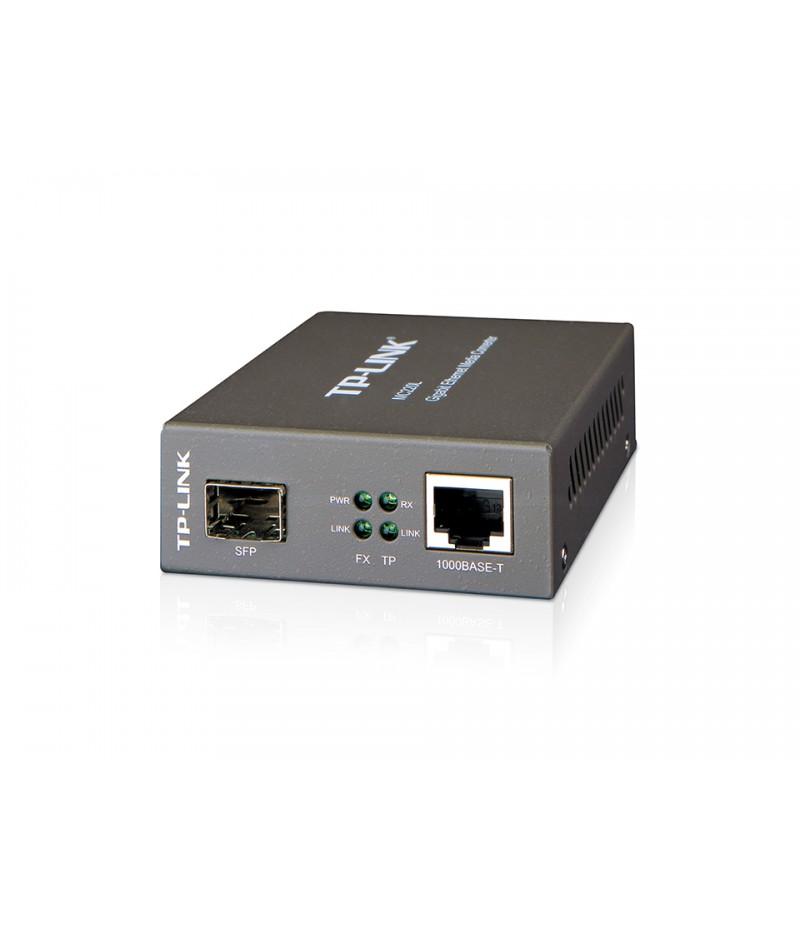 TP-Link MC220L Gigabit SFP медиен конвертор