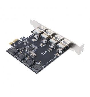 PCI-Express карта Orico PNU-4U с 4 USB 3.0 порта