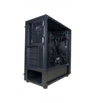 Кутия за настолен компютър Segotep X1 ATX Mid Tower с прозрачен страничен панел