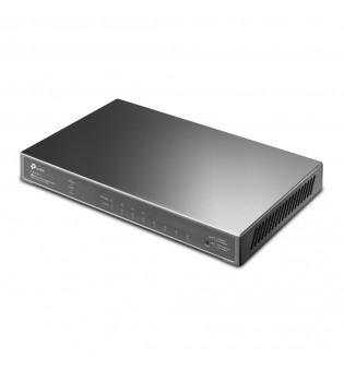 8-портов JetStream Gigabit Smart комутатор TP-Link TL-SG2008P с 4 PoE+ порта