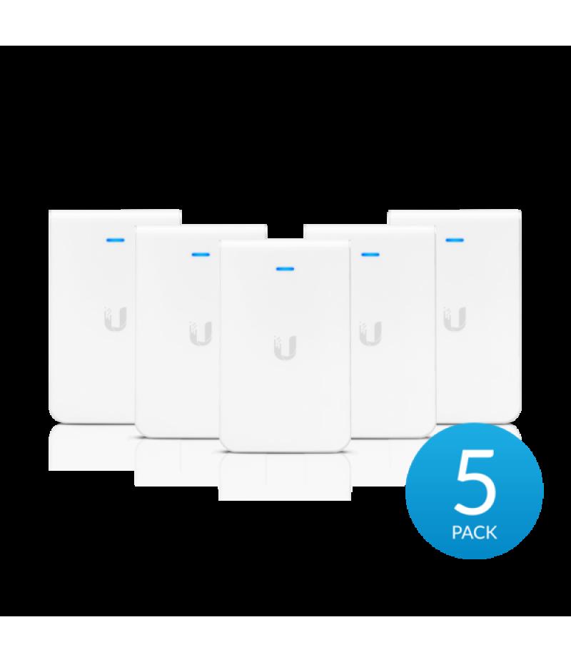 5 бр. точка за достъп Ubiquiti UniFi UAP-AC-IW