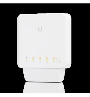 5-портов управляем гигабитен комутатор Ubiquiti UniFi Switch Flex