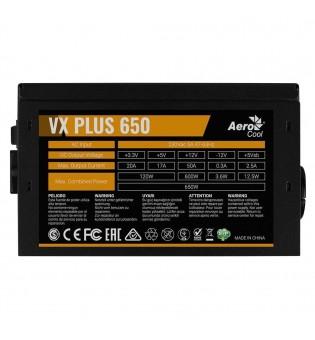 Захранващ блок Aerocool VX Plus 650W