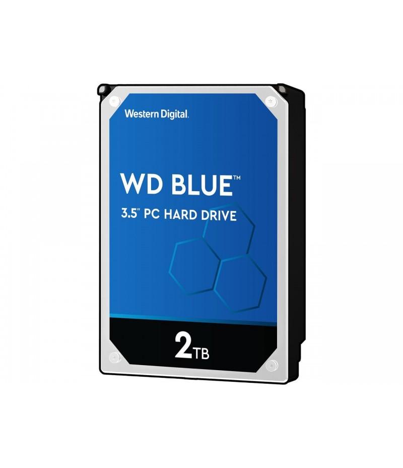 """Твърд диск Western Digital Blue 2TB 5400rpm SATA 6GB/S, 256MB 3.5"""""""
