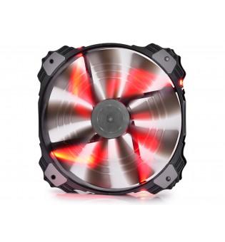 Вентилатор DeepCool XFAN 200 с червена LED подсветка