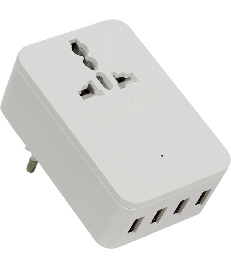 Зарядно устройство Orico S4U-TEU с 4 USB порта