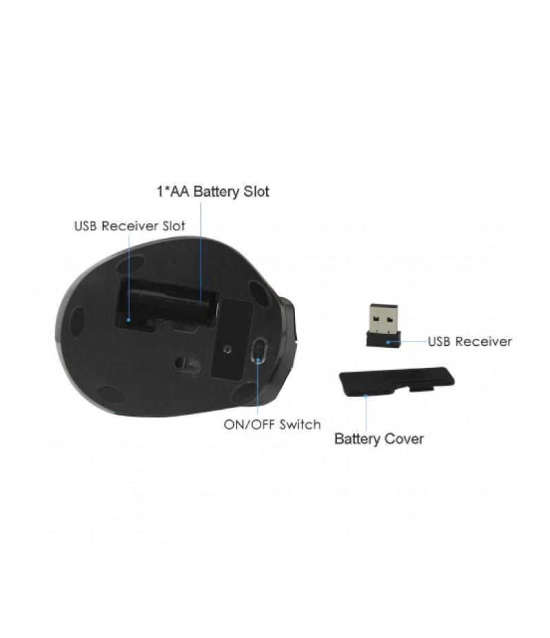 Безжична оптична мишка Delux DLM-517GX