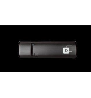 Безжичен двубандов USB адаптер D-Link DWA-182 AC1200