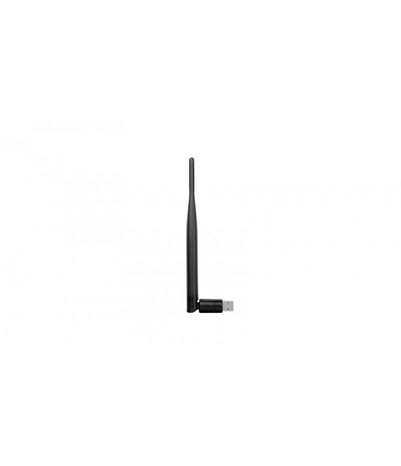 Безжичен високоскоростен USB адаптер D-Link DWA-127 N150