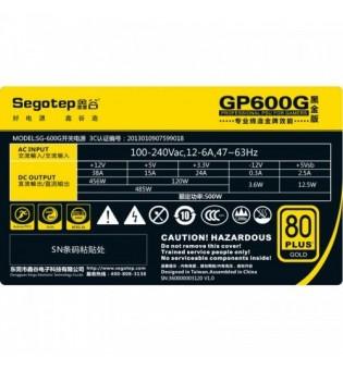 Захранващ блок Segotep GP 600G 80 Plus GOLD 500W