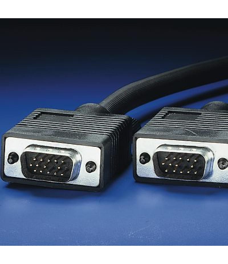 VGA кабел HD15 M/M ROLINE 2.0 м Quality 11.04.5202